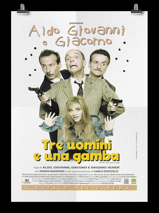 Tre Uomini E Una Gamba Aldo Giovanni E Giacomo Sito
