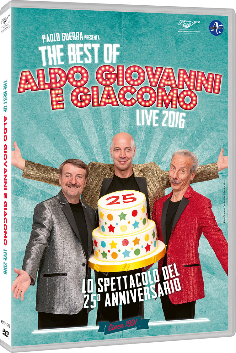 The best of aldo giovanni giacomo_cover DVD