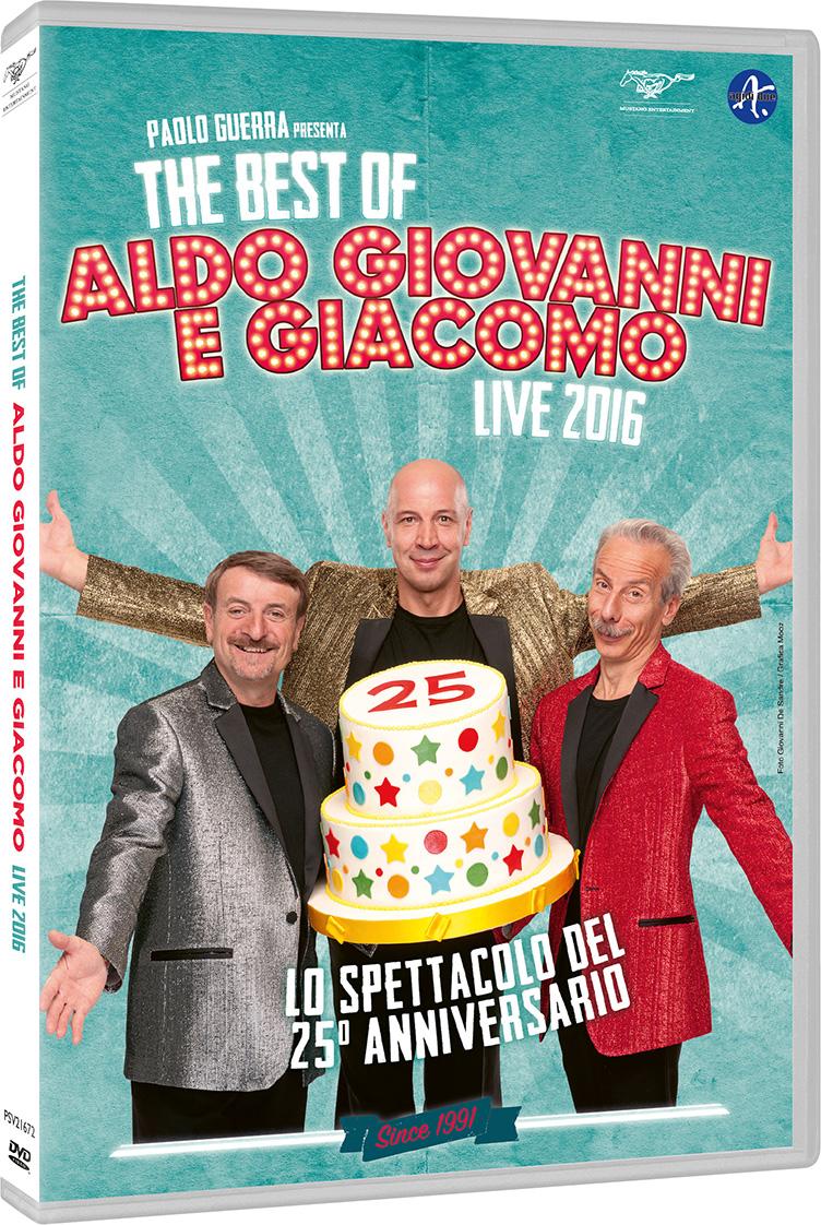 The best of aldo giovanni giacomo_cover DVD